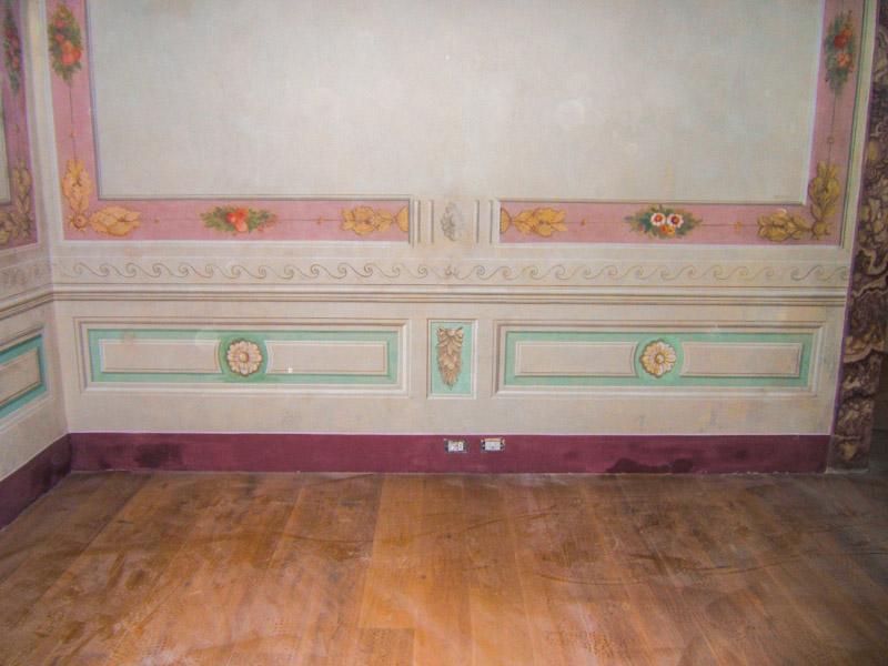Restauri Pittorici parete restaurata