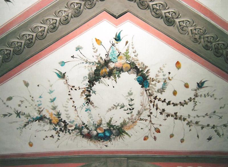 Restauri Pittorici particolare decorazione